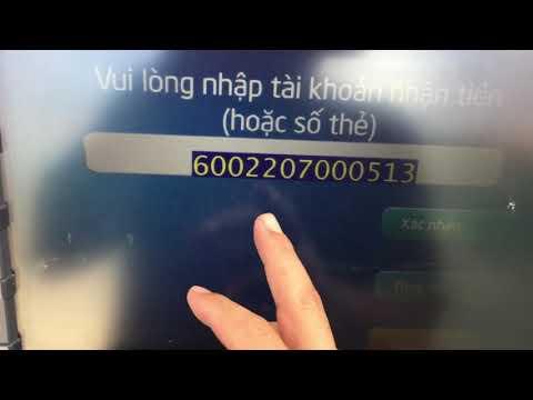 Sử Dụng Thẻ BIDV Rút Tiền | Xem Số Dư | Chuyển Khoản Tại ATM Kiên Long Bank