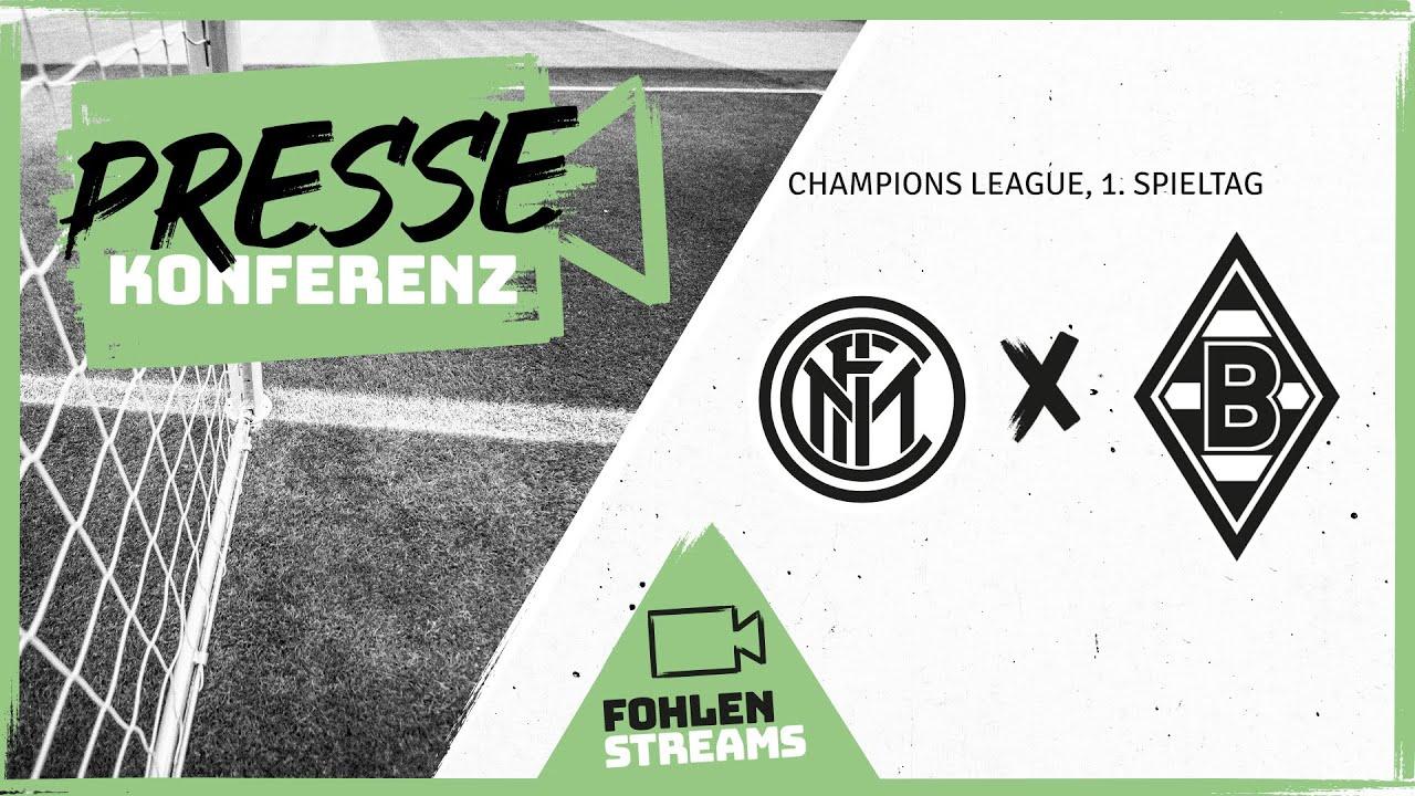 PK vor dem Spiel: Inter Mailand - Borussia
