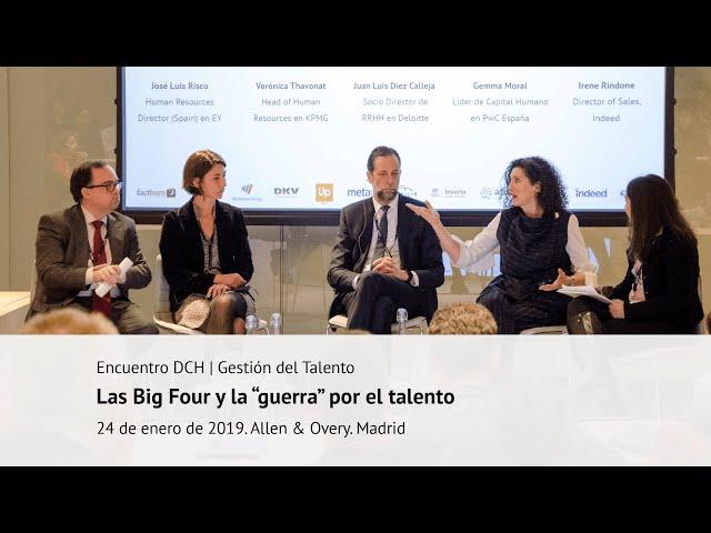 """Las Big Four y la """"guerra"""" por el talento"""