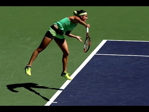 2017 BNP Paribas Open Third Round | Caroline Garcia vs Johanna Konta | WTA Highlights