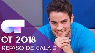 REPASO DE GALA | GALA 2 | OT 2018