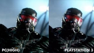 Crysis 3 Graphics Comparison