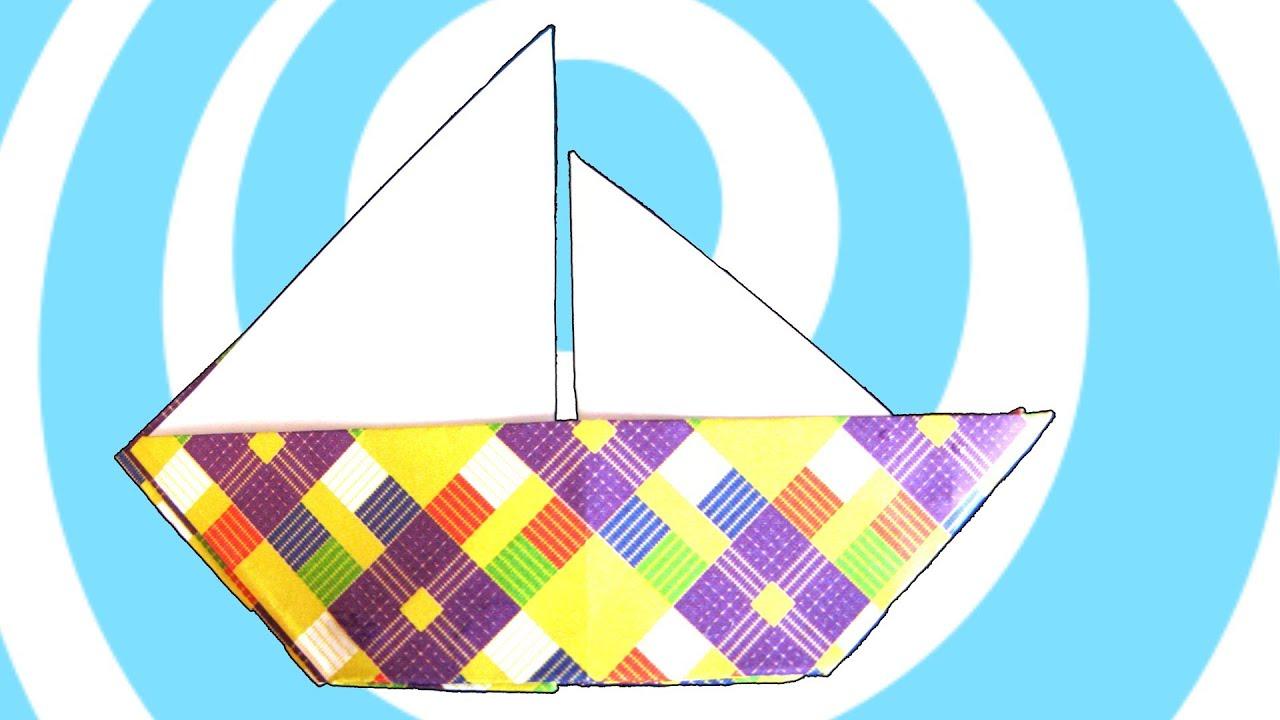 Tutoriel De Voilier Origami Tubefr Com