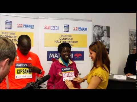 Edna Kiplagat interview before Mattoni Olomouc Half Marathon