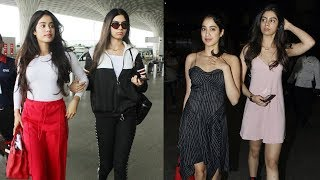 Janhvi and Khushi Kapoor are the new stylish sisters of B-Town thumbnail
