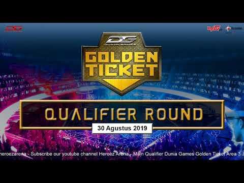 Dunia Games Golden Ticket Area 3 - 30 Agustus 2019