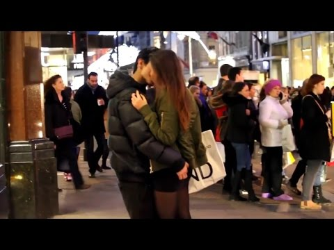 Funny Prank ★ 15 Years Old Kissing Girls in London