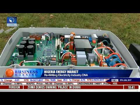 Business Morning: Re-writing Nigeria's Electricity Industry DNA Pt 2