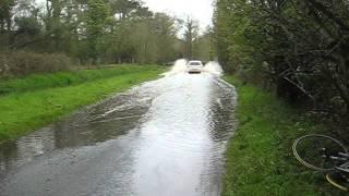 Meathop Road flood