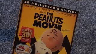 The Peanuts Movie 3D Collector's Edition Blu-Ray Unboxing