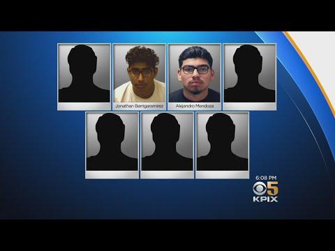 Seven Arrested In South Bay Crime Spree