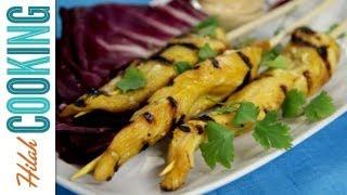 Chicken Satay Recipe With Peanut Sauce