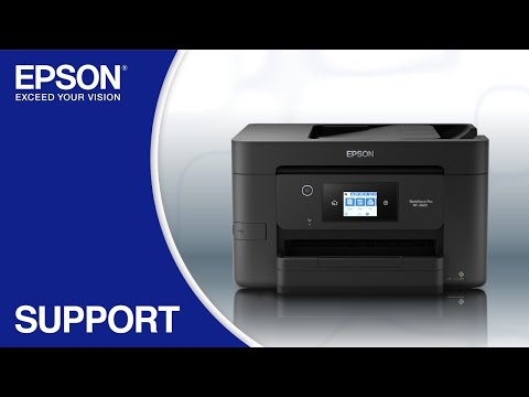 Epson WorkForce WF-3820 | Wireless Setup Using the Control Panel