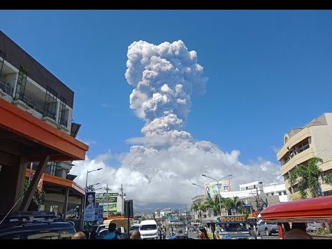 GSM Update 1/23/18 - Mayon Now Level 4 - Snow Records Everywhere - Kusatsu Erupts