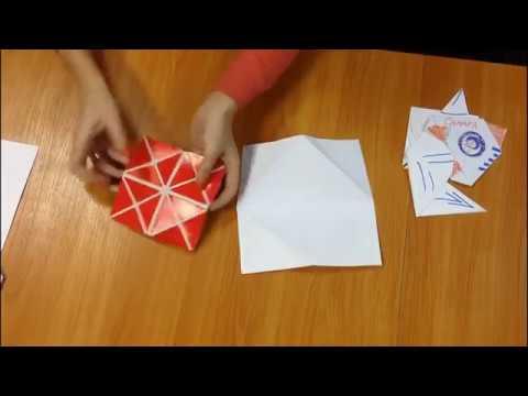Квадрат Воскобовича из бумаги