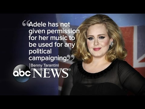 Index: Adele Wants Trump to Stop Using Her Music at Campaign Events