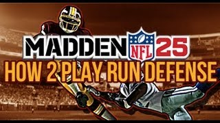 Madden 25 Run Defense - Stop the Stretch