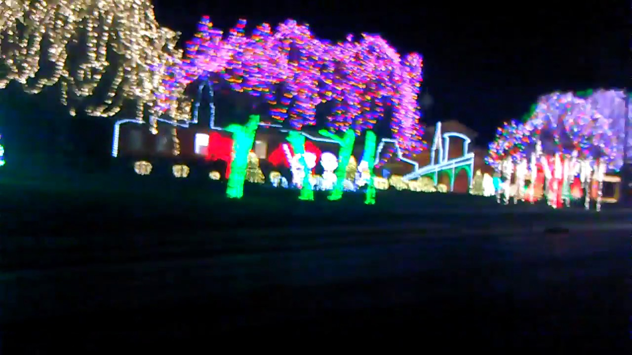 Nela Park Christmas Lights 2016 - YouTube