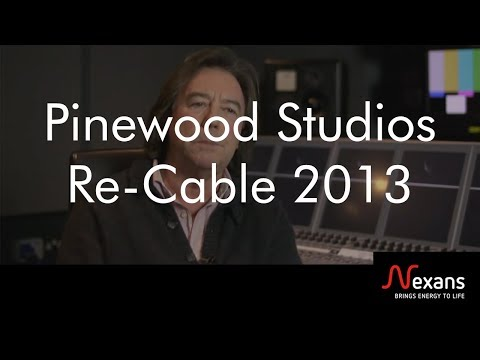 Pinewood Studios re-cable in preparation for HD