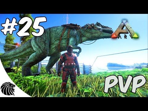 Ark Survival Evolved - MODS - MAIS UM GIGANTO? 25 PVP