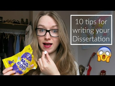 10 tips for writing your dissertation | ThatQuirkyGirl