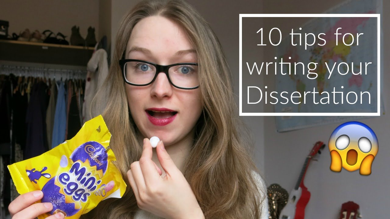 10 tips for writing your dissertation   ThatQuirkyGirl   YouTube