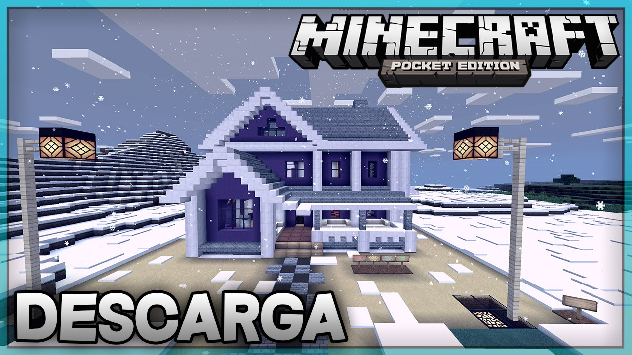 Descarga casa moderna para minecraft pe super for Casa moderna minecraft pe 0 10 5