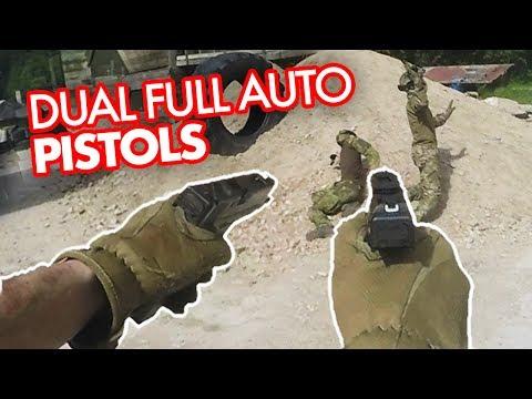Download Youtube: DUAL WIELD Airsoft Pistols - FULLAUTO Glock 18c