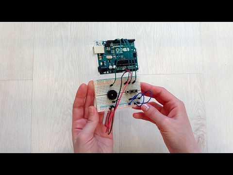 Матрешка Z, Arduino часть 7 - Эксперимент 8: Мерзкое пианино