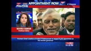Ex-CJI P Sathasivam, next Kerala Governor?