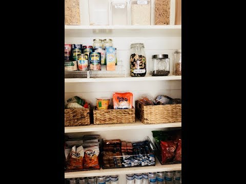 PANTRY ORGANIZATION| KITCHEN CABINETS|CLEAN WITH ME
