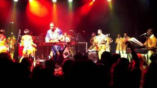 "Femi Kuti- ""Truth Don Die"" ""Nobody Beg You"" live"