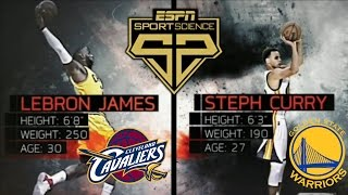 NEW Sports Science: Golden State Warriors vs Cleveland Cavaliers