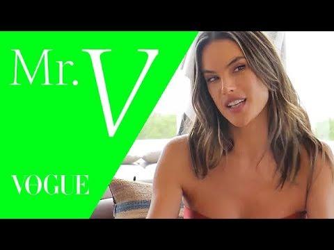 Alessandra Ambrosio no Mister V: top fala sobre sua nova empreitada na moda / Vogue Brasil