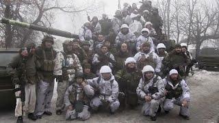 Ополченцы ДНР перед атакой на Углегорск. Ополчение Новороссии.