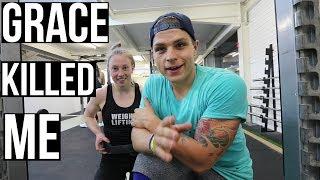 TAKING ON GRACE! (Weightlifter vs Crossfitter)
