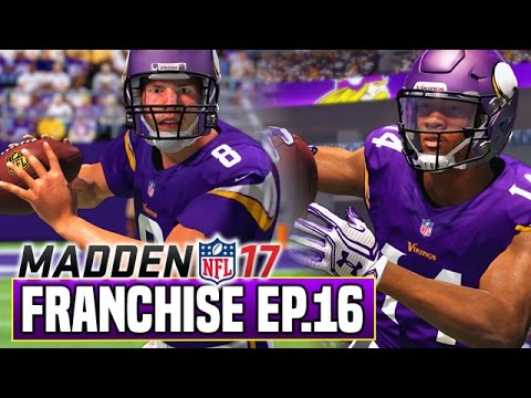Madden 17 Vikings Franchise (Y1W17) - SAM BRADFORD RETURNS! | Ep.16
