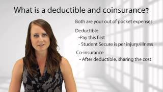 what is a deductible and coinsurance