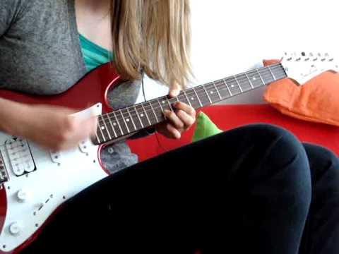 how to play red hot chili peppers under the bridge