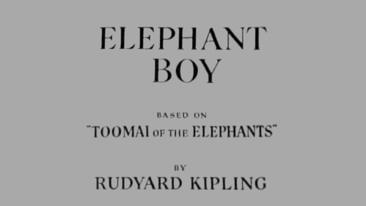 Elephant Boy (1937) [Adventure] [Drama] [Family]