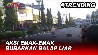 Viral! Emak-emak di Jambi Hentikan Balap Liar - BIS 16/04