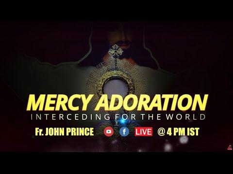 Live Mercy Adoration 26/03 - Fr. John Prince, Divine Retreat Centre, Goodness TV English