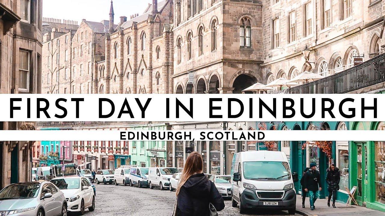 WALKING AROUND IN A FAIRYTALE · EDINBURGH, SCOTLAND | TRAVEL VLOG #69