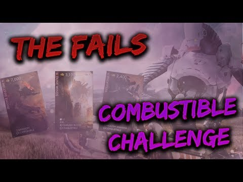 GRIM/MURDOCK GAMEPLAY - Combustible Challenge - THE FAILS