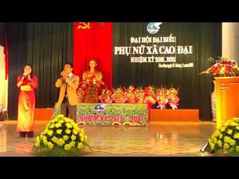 Đại hội ĐB Hội phụ nữ xã Cao Đại nhiệm kỳ 2016 2021