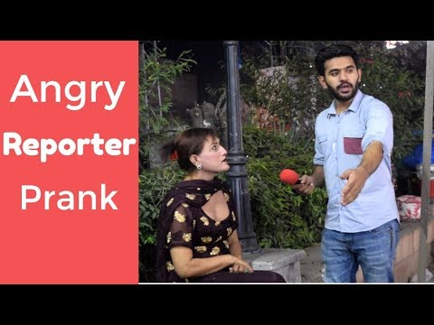 Angry Fake Reporter Prank   Lahore Liberty Market   Haris Awan