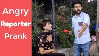 Angry Fake Reporter Prank | Lahore Liberty Market | Haris Awan