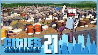 Cities Skylines - Ep.21 : The Black Gold!