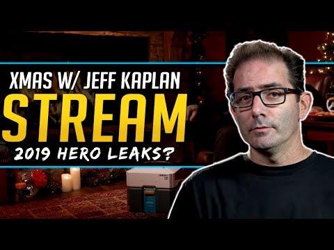 Overwatch Jeff Kaplan Livestream - 2019 Hero Leaks and More