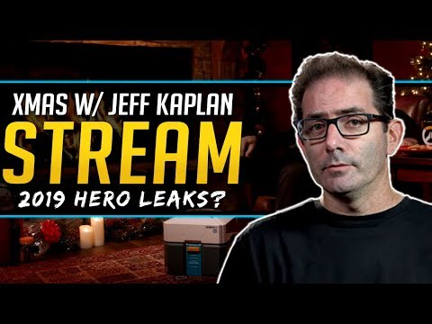 Overwatch Jeff Kaplan Livestream - 2019 Hero Leaks and More thumbnail